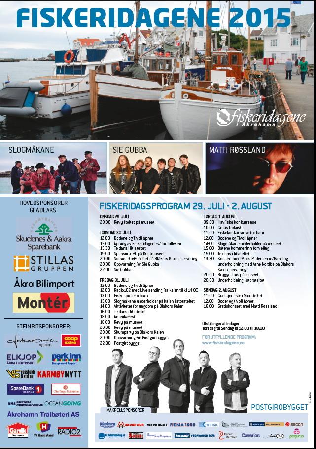 Fiskeridagsprogram 2015