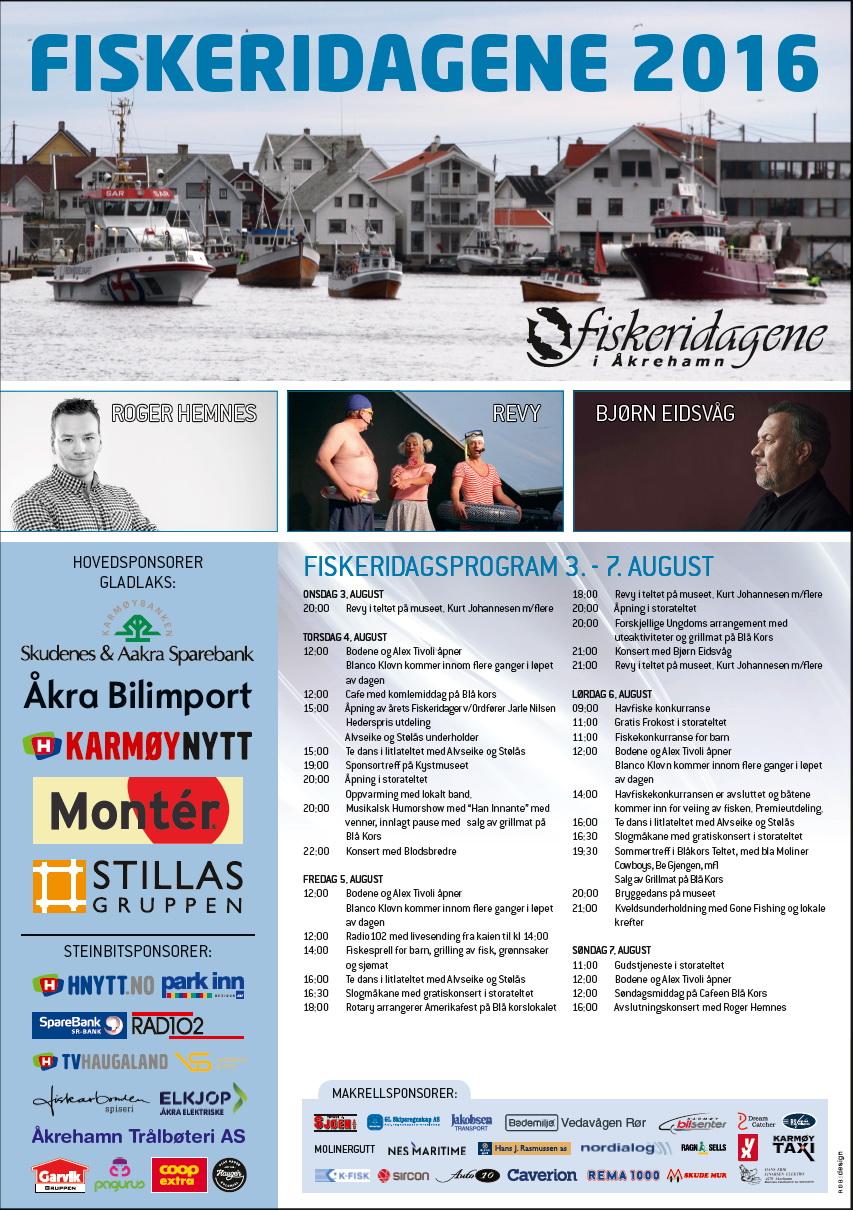 Program Fiskeridager 2016
